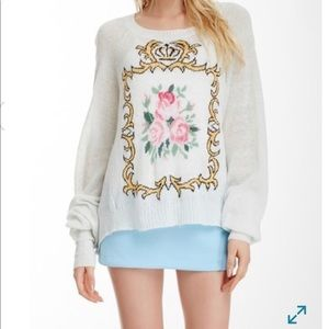 ❤️WILDFOX WHITE LABEL SWEATER ❤️